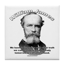 William James 01 Tile Coaster