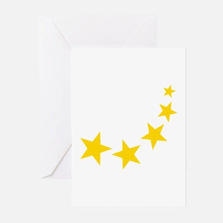 Stars Greeting Cards (Pk of 20)
