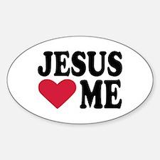 Jesus loves me Decal