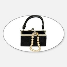 Purse with Pearls Decal