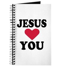 Jesus loves you Journal