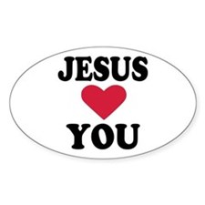 Jesus loves you Decal