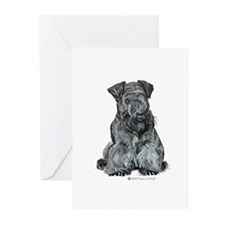 Cesky Terrier Greeting Cards (Pk of 10)