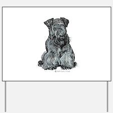 Cesky Terrier Yard Sign