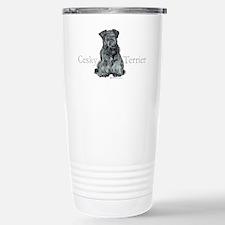 Cesky Terrier Stainless Steel Travel Mug