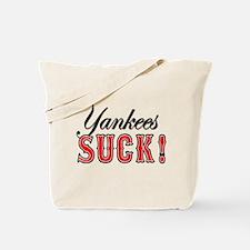 Cute Yankees suck Tote Bag