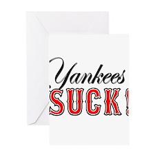 yankeessuck Greeting Cards