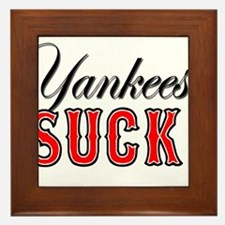 Cute Yankee Framed Tile