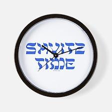Shvitz Time Yiddish Wall Clock