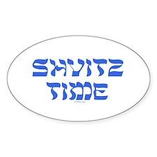 Shvitz Time Yiddish Decal