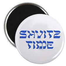 Shvitz Time Yiddish Magnet