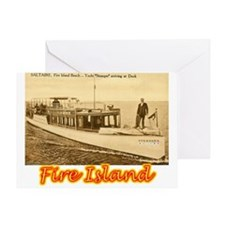 Fire island Greeting Card