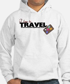 """I love to travel"" Hoodie"