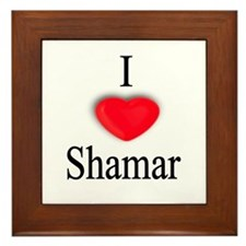 Shamar Framed Tile