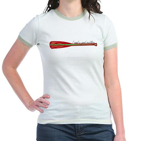 """I need a good paddling"" Red Oar Jr. Ringer T-Shir"