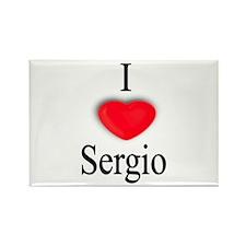 Sergio Rectangle Magnet