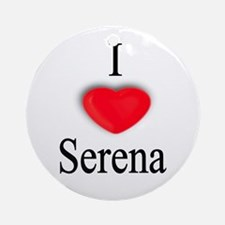 Serena Ornament (Round)