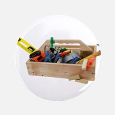 "Wooden Toolbox 3.5"" Button"