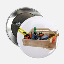 """Wooden Toolbox 2.25"""" Button"""
