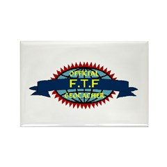 Official FTF Geocacher Rectangle Magnet