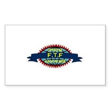 Official FTF Geocacher Rectangle Decal