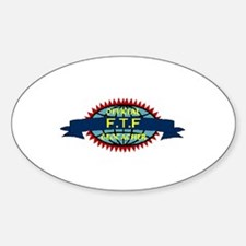 Official FTF Geocacher Oval Decal