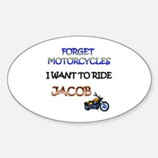 Cute New moon motorcycles Sticker (Oval)