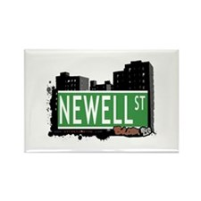 Newell St, Bronx, NYC Rectangle Magnet