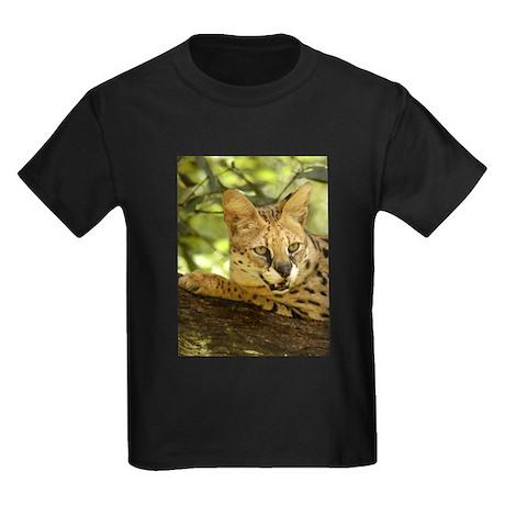 Serval Kids Dark T-Shirt