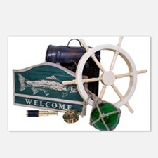 Welcome Nautical Postcards (Package of 8)