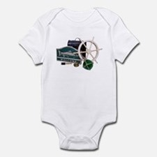 Welcome Nautical Infant Bodysuit