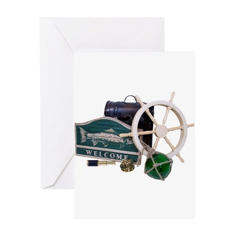 Welcome Nautical Greeting Card