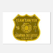 Team Sawyer - Dharma 1977 Postcards (Package of 8)