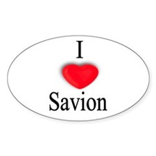 Savion Oval Decal