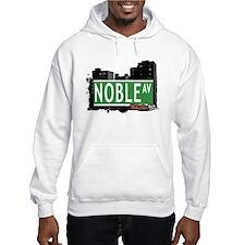 Noble Av, Bronx, NYC Hoodie