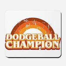 DodgeBall Champion Mousepad