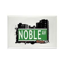 Noble Av, Bronx, NYC Rectangle Magnet