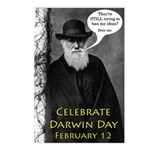 Darwin Day Postcards (Eight)