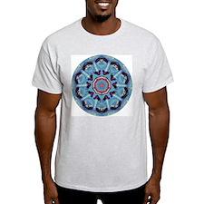Mandala Ash Grey T-Shirt