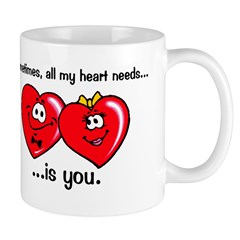 All My Heart Needs Mug