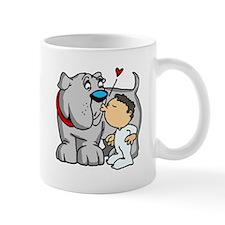 Bulldog Kiss Mug