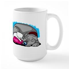 Peaceful Pair Large Mug