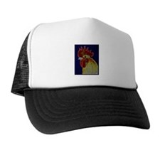 Freestyle Rooster Head Hat