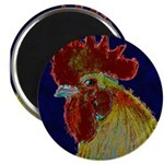 Freestyle Rooster Head Magnet