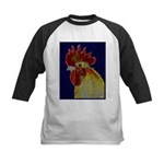 Freestyle Rooster Head Kids Baseball Jersey
