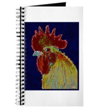 Freestyle Rooster Head Journal