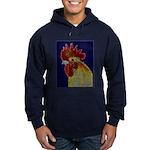 Freestyle Rooster Head Hoodie (dark)