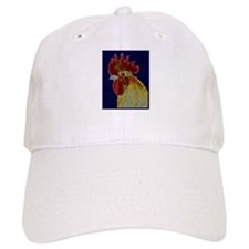 Freestyle Rooster Head Baseball Cap