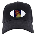Freestyle Rooster Head Black Cap
