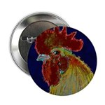 "Freestyle Rooster Head 2.25"" Button (100 pack"